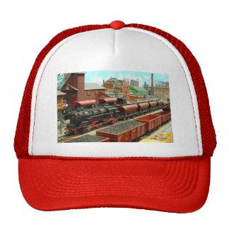 Gorra modelo de la estación de tren