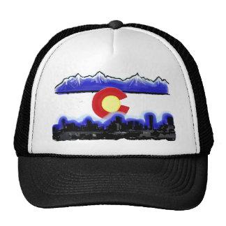 Gorra moderno de la bandera del horizonte de Denve