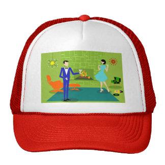Gorra moderno del camionero de los pares de los