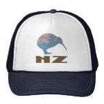 Gorra moderno del camionero del kiwi de Nueva Zela