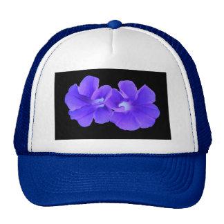 Gorra, Morninglories flotante púrpura 5226 Gorro