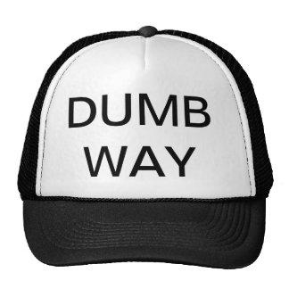 Gorra mudo de la manera