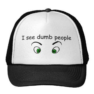 Gorra mudo del gráfico de la gente