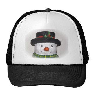 Gorra muy lindo del muñeco de nieve