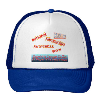 Gorra nacional de la conciencia del Fibromyalgia