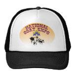 Gorra nacional de la expo de la cabra