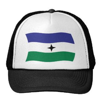 Gorra nacionalista de la bandera de Bubi