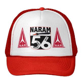 Gorra NARAM56 con los logotipos del NAR de la prim