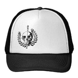 Gorra náutico del camionero del logotipo del cráne