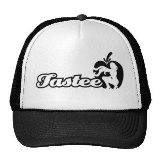 Gorra negro/blanco del logotipo
