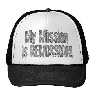 Gorra negro de la gorra de béisbol de la curación