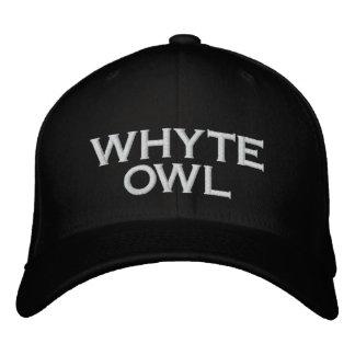 Gorra negro del búho de Whyte Gorra De Béisbol