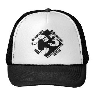 Gorra negro del camionero del logotipo C3