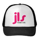 Gorra negro del camionero del logotipo de JLS