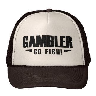 Gorra negro del camionero del logotipo del jugador