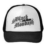 Gorra negro del camionero del Switchblade de lunes