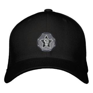gorra negro del logotipo VR Gorra Bordada