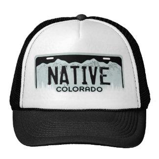 Gorra negro nativo del recuerdo de la placa de