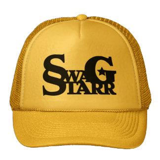 Gorra negro y amarillo de Starr del Swag