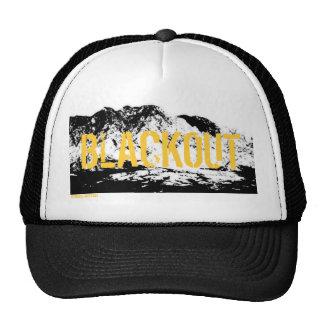 Gorra negro y amarillo del APAGÓN del sur de la mo