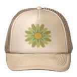 gorra neutral de moda de la flor