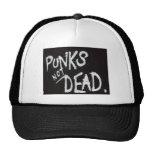Gorra no muerto del camionero del punk