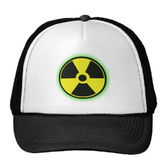 Gorra nuclear del peligro
