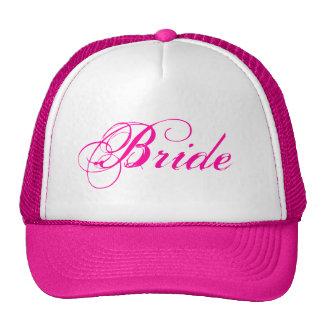 Gorra nupcial rosado