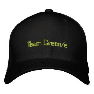Gorra oficial 1 del equipo Green/e Gorra Bordada