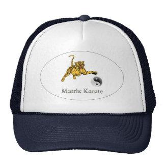 ¡Gorra oficial del karate de la matriz! Gorros