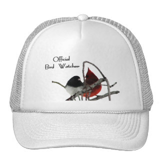 Gorra oficial del vigilante de pájaro