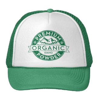 Gorra orgánico superior del polvo de Idaho