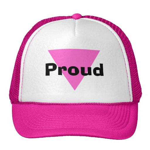 Gorra orgulloso de la lesbiana del gorra