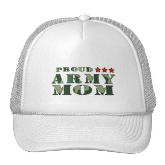 Gorra orgulloso de la mamá del ejército