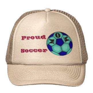 Gorra orgulloso de la mamá del fútbol