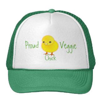 Gorra orgulloso del polluelo del Veggie