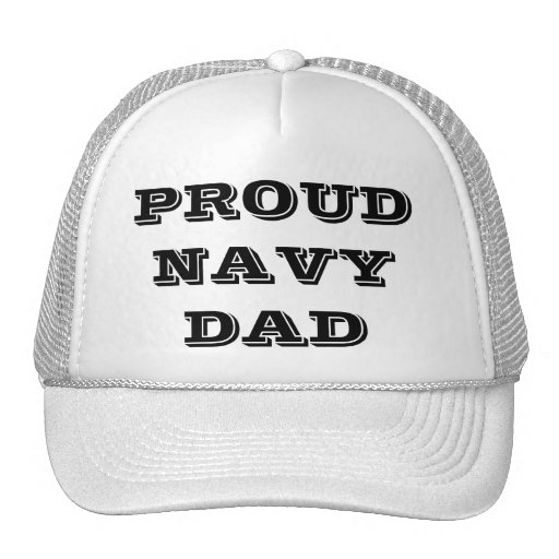 Gorra orgulloso \ papá de la marina de guerra
