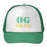 Gorra original del camionero de la diosa de OG