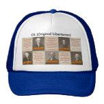 Gorra original del camionero de los libertarios