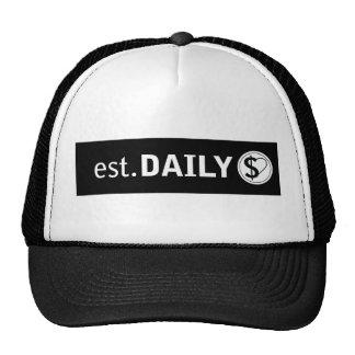 Gorra original del camionero del logotipo de