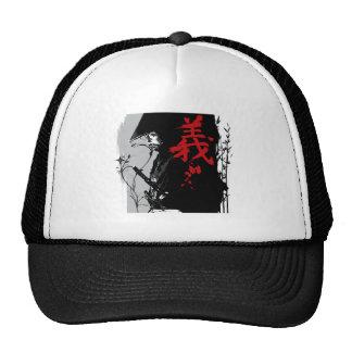 Gorra oscuro del samurai del SOLDADO ENROLLADO EN