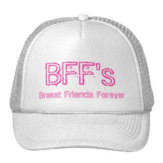 Gorra para siempre BFF del pecho de los amigos