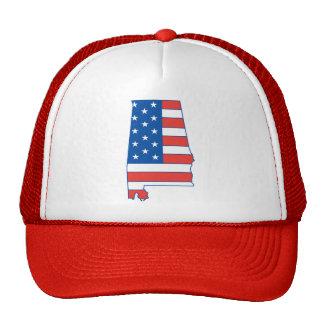 Gorra patriótico de Alabama
