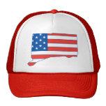 Gorra patriótico de Connecticut
