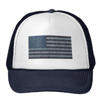 Gorra patriótico de la bandera de los E.E.U.U. del