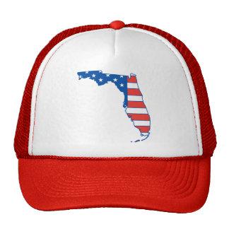 Gorra patriótico de la Florida
