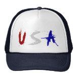Gorra patriótico de los camioneros de los E.E.U.U.