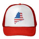 Gorra patriótico de Maine