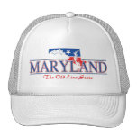 Gorra patriótico de Maryland
