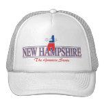 Gorra patriótico de New Hampshire